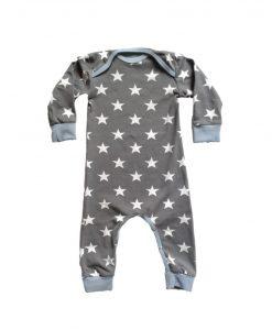 Jumpsuit baby grijs