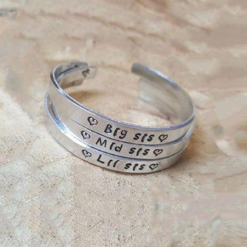 Handgemaakt armband met naam