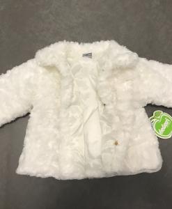 Privé: White roses bontjas baby