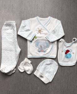 Newborn set olifantje