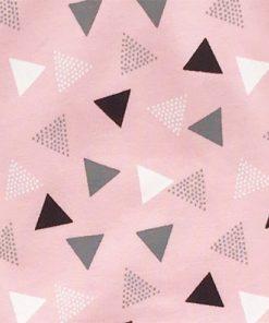 Broekje driehoekjes roze
