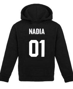 hoodie met naam