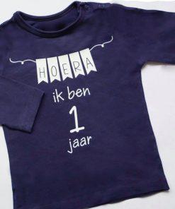 Gepersonaliseerde verjaardag shirt