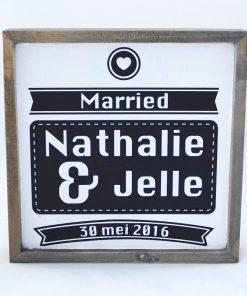 Huwelijksbord