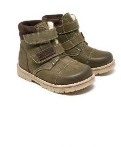 Kinderschoenen met klittenband - Groen