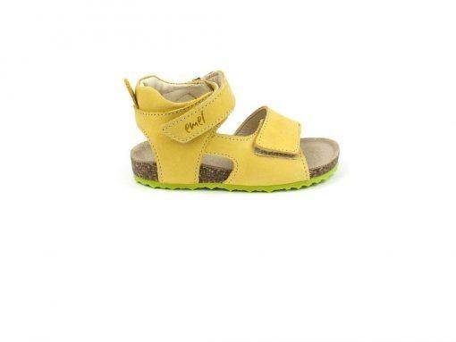 Kindersandalen geel
