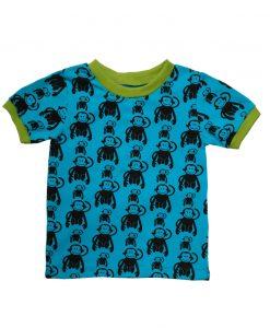 Shirt met apen