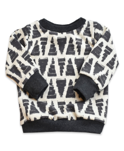 Sweater met triangles print