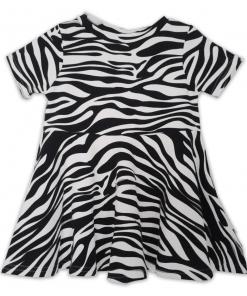 Jurk zebraprint