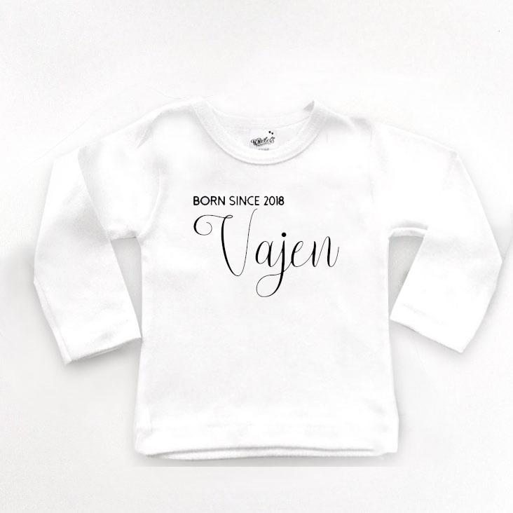 a5ea0b19425 Shirt Met – Jaar Geboorte Naam En Bebetos 80PnwOk