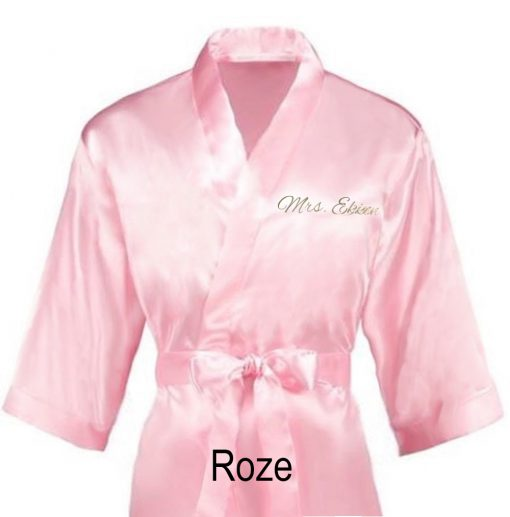 Kimono met naam