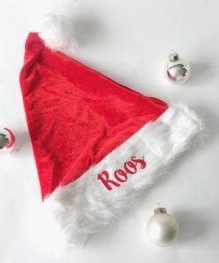 kerst muts met eigennaam