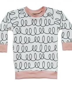 Shirt met lusje design