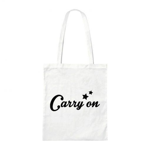 Canvas tas met naam
