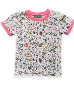 Shirt met Insecten print