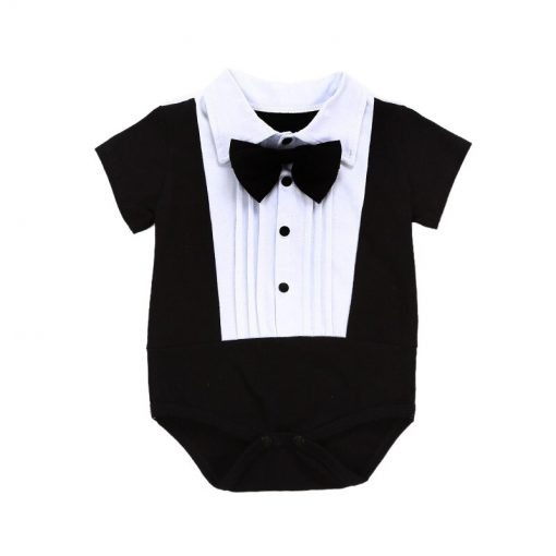 Baby smoking romper