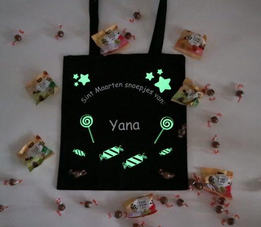 Sint maarten tas met naam