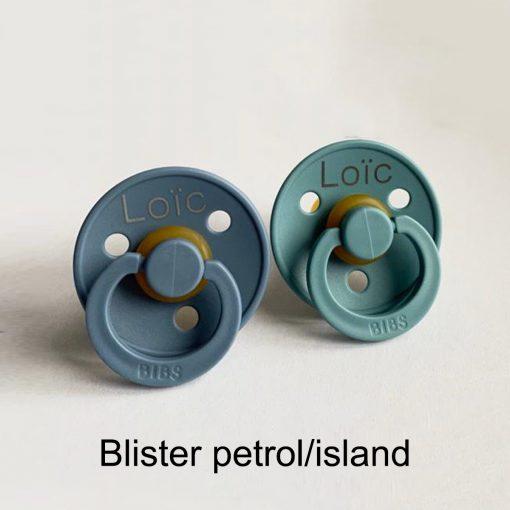 Blister petrol/island