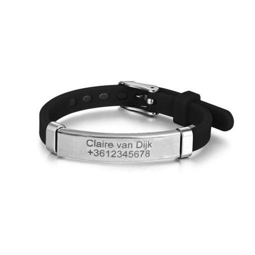 Armband met gegevens